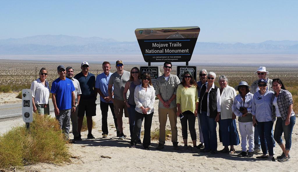 Field Trip to Mojave Trails National Monument, Mojave Desert, California