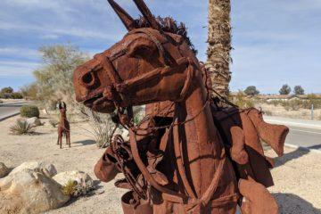 Ricardo Breceda Sculptures, National Park Drive, 29 Palms, California
