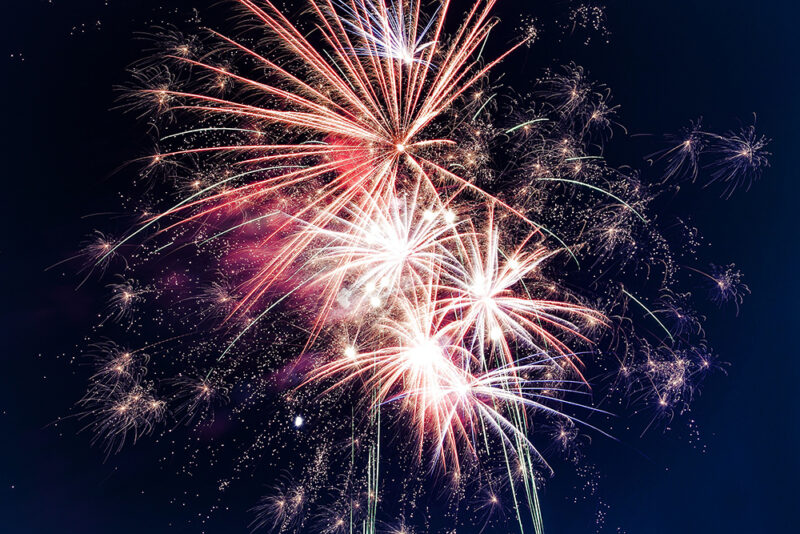 4th of July Fireworks 29 Palms California