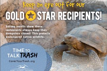 29 Palms Restaurants Earn Gold Star Awards from The Living Desert Zoo