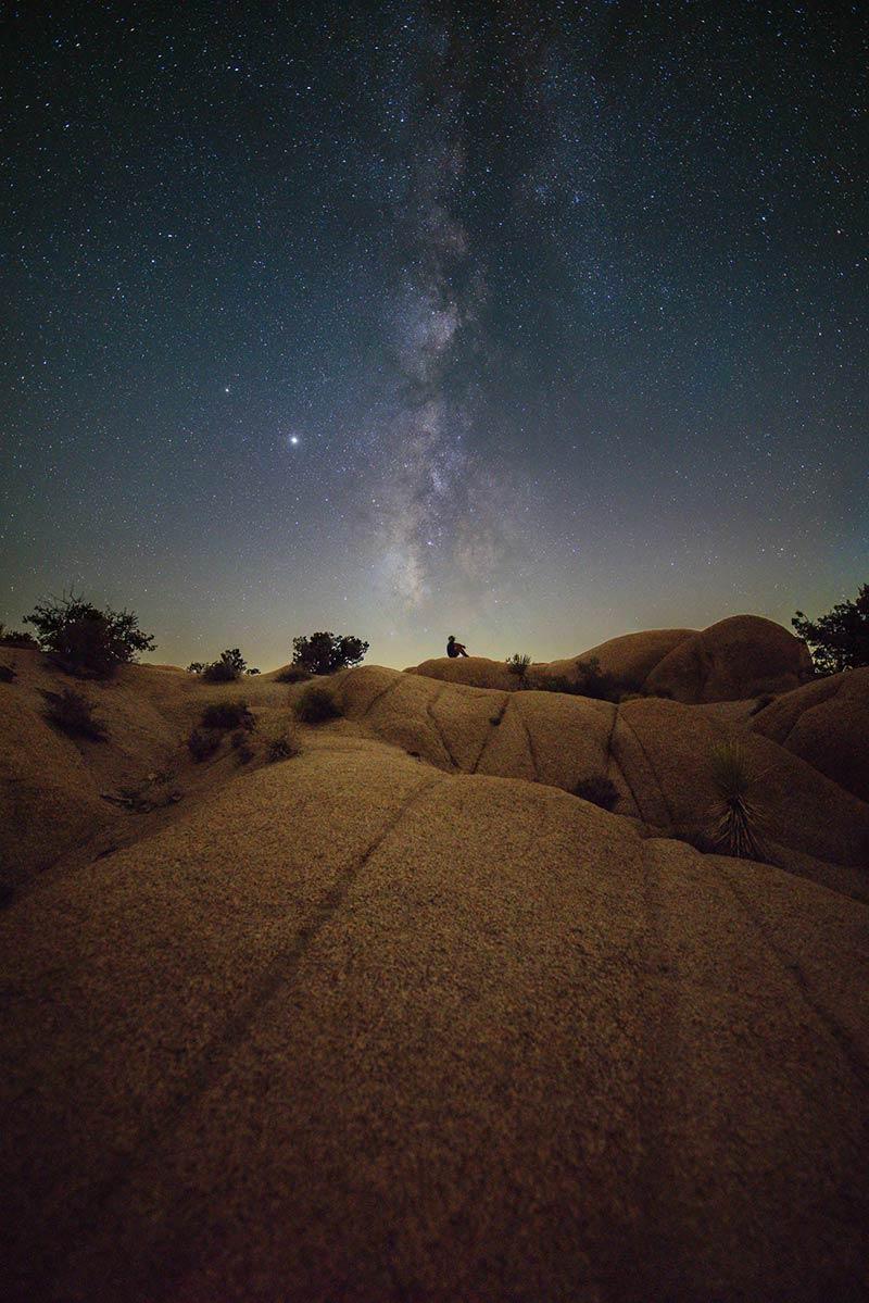 Stargazing in Joshua Tree National Park Photo by Jack Fusco
