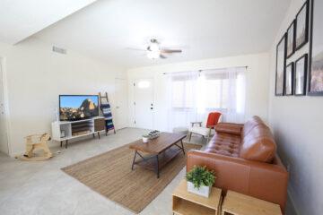 Desert Oasis Vacation Rental Living Room 29 Palms California VHR151